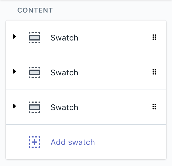 Set Section Thumbnail Block Name In Theme Editor